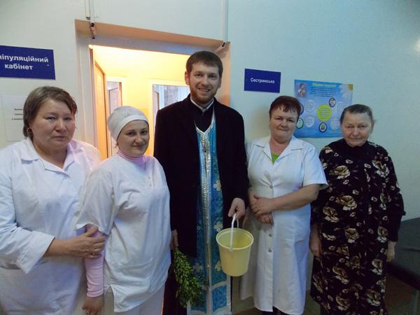 З Богоявленським благовістям в лікарні Ужгорода та Мукачева