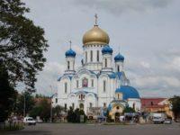 Відеоверсія прямої трансляції Пасхального богослужіння з кафедрального собору Ужгорода