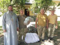 Клірик єпархії спільно з волонтерською організацією передав допомогу 15-му батальйону 128-ої бригади ЗСУ