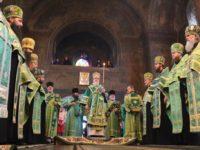 МУКАЧЕВО. Всенічне богослужіння в переддень преподобного Мойсея Угрина
