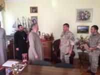 МУКАЧЕВО. Зустріч з військовослужбовцями Державної спеціальної служби транспорту ЗСУ