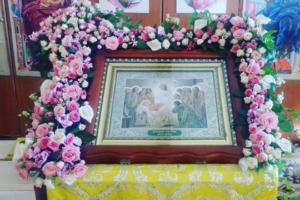 Флористична оздоба до свята Успіння Божої Матері