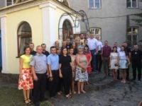 МУКАЧЕВО. Духовенство єпархії привітало працівників міськвідділу поліції з професійним святом