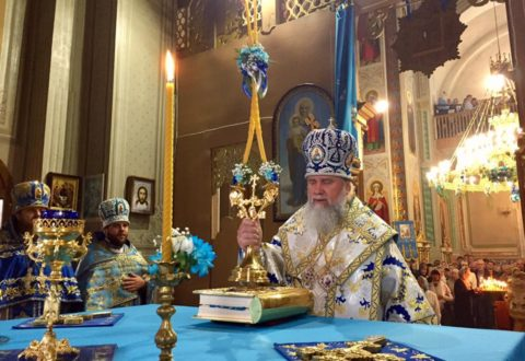 МУКАЧЕВО. Престольне свято Росвигівського собору
