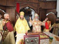МУКАЧЕВО. Архієрейське богослужіння в день пам'яті святого апостола і євангеліста Іоана Богослова