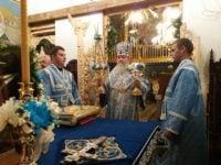 РАКОШИНО. Всенічне бдіння напередодні престольного свята Покровського монастиря